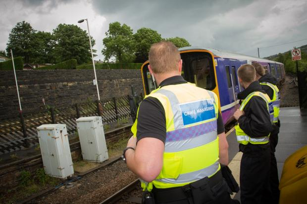 Northern's Rail Response Team await the arrival of a service on the Real Ale Trail