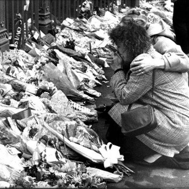 Messenger Newspapers: Tributes left for victims of the 1989 Hillsborough disaster