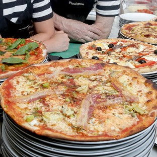 The Government was criticised for apparently advising restaurants how to cut portion sizes, for instance in pizzas, to help fight obesity without cutting prices