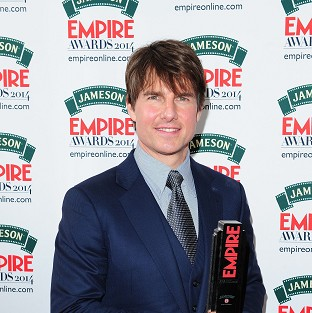 "Tom Cruise thanks ""Lady Luck"""