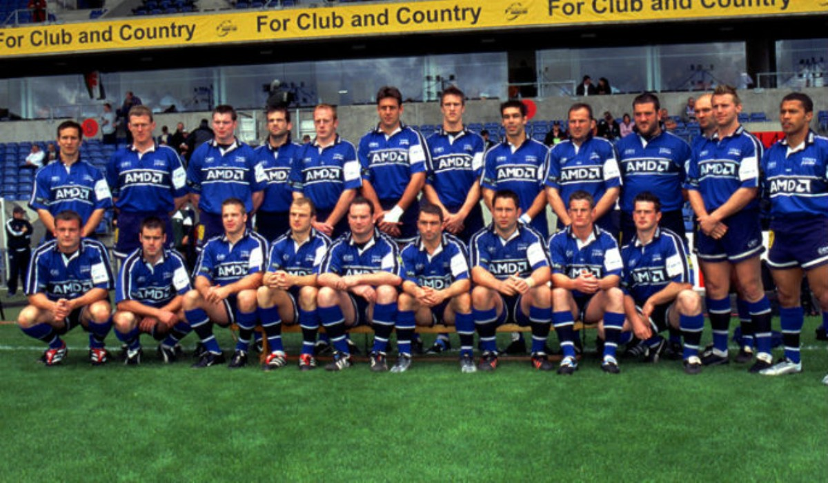 The 2002 European Challenge Cup-winning squad