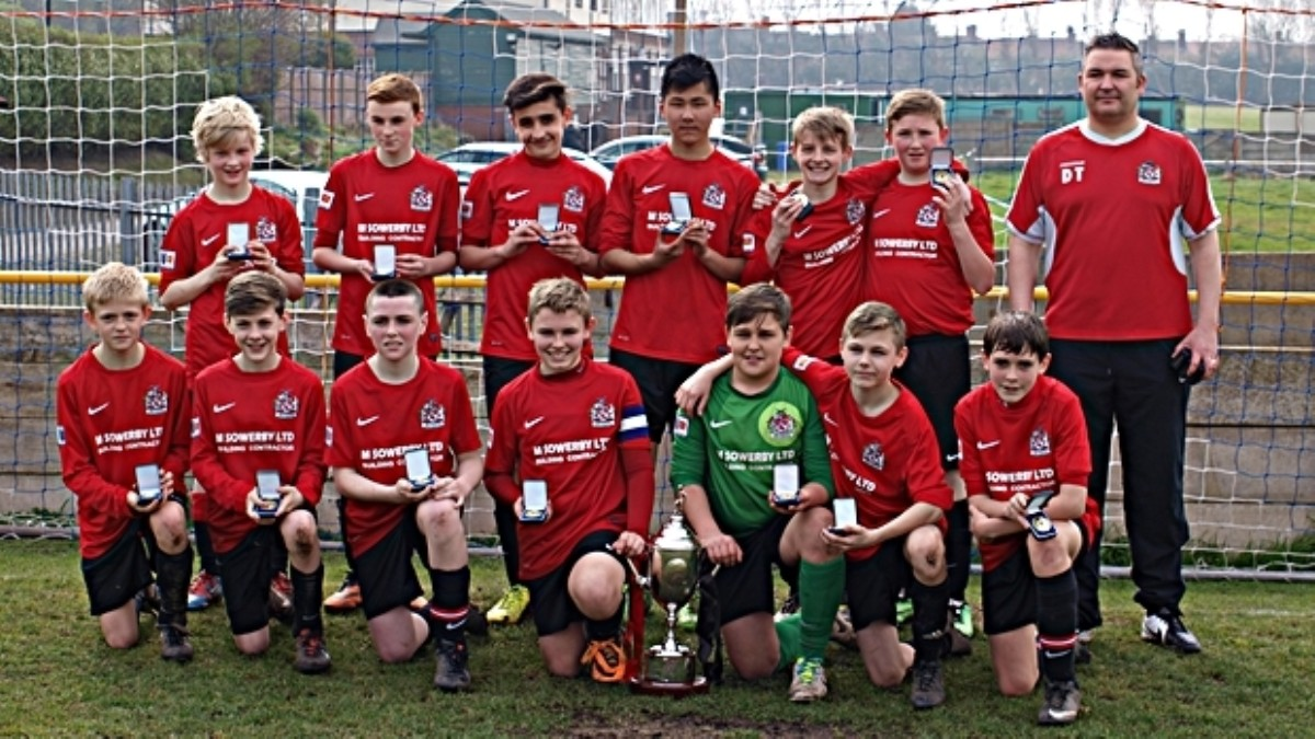Cup win for Sale United u-13 Jets