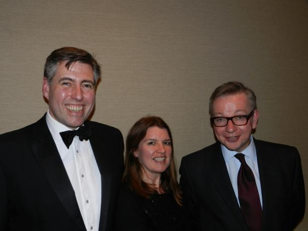 Messenger Newspapers: Graham Brady MP, Victoria Brady and Michael Gove