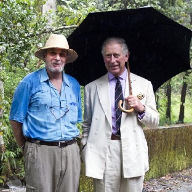Messenger Newspapers: Mark Shand (left), seen here with his brother-in-law the Prince of Wales, has died