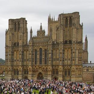 Messenger Newspapers: A woman has become trapped after a fall at Wells Cathedral