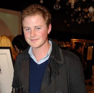Messenger Newspapers: Guy Pelly, whose wedding in the US is to be attended by the Duke of Cambridge and Prince Harry