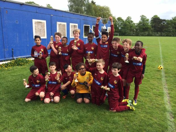 Cup win for North Trafford under-12s