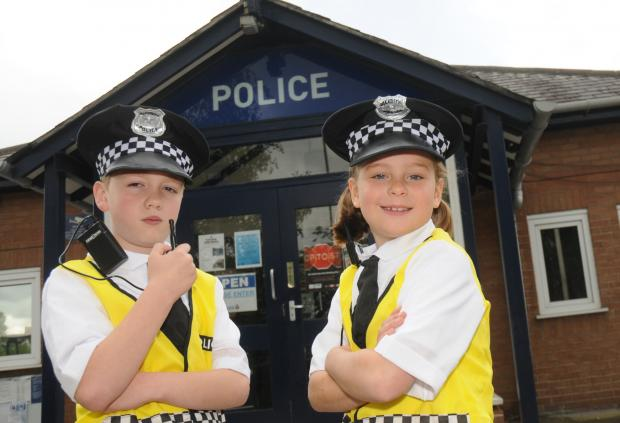 Year Four pupils Harry Atack and Abi Lynn