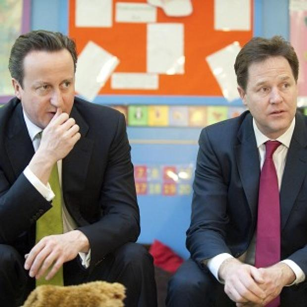 Messenger Newspapers: David Cameron says he has a good working relationship with Nick Clegg