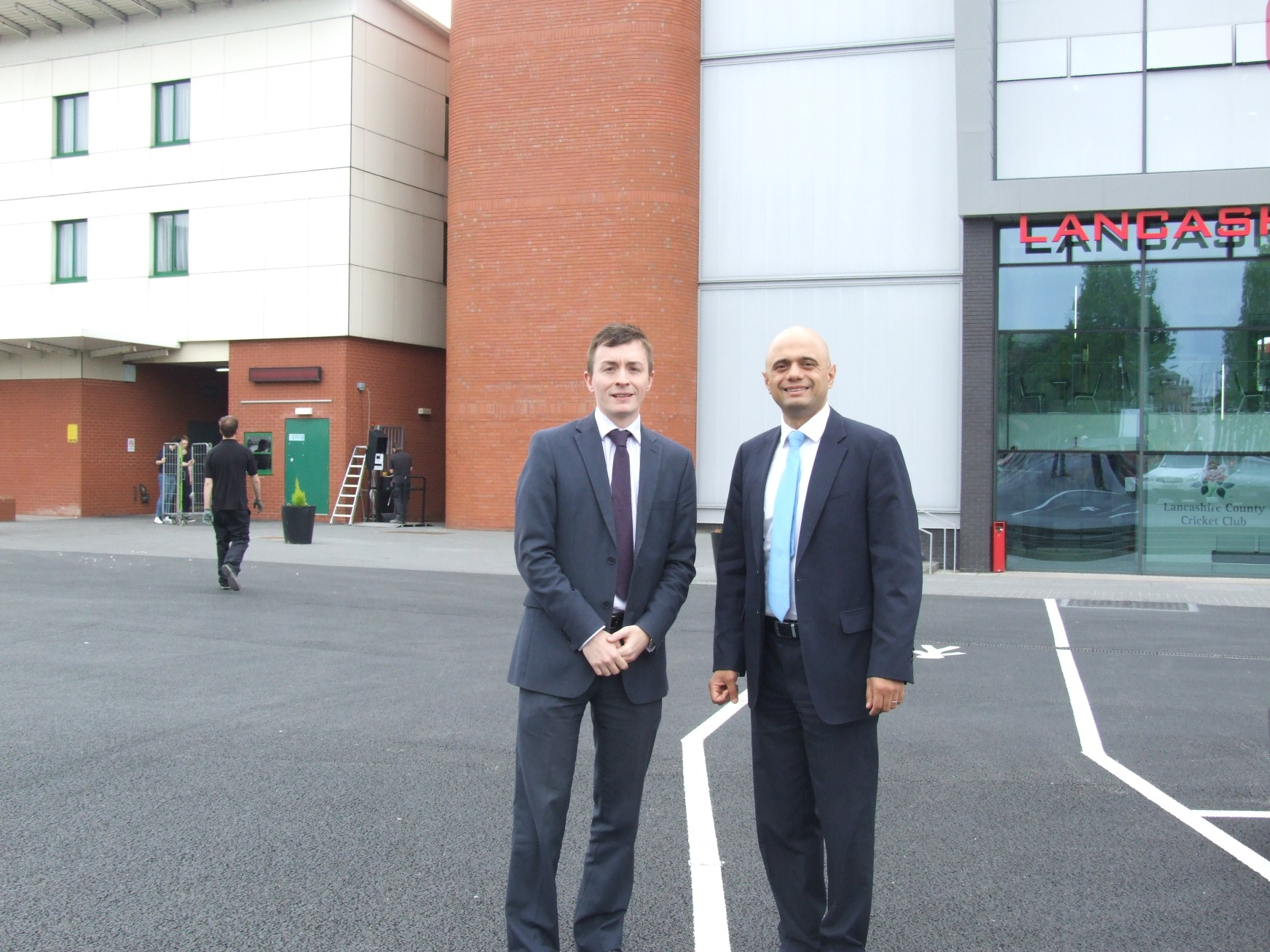 Minister for Culture, Media and Sport visits LCC's Old Trafford ground