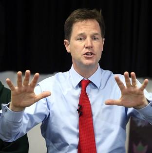 Just 13% of people thought Nick Clegg was doing a good job, according to a poll