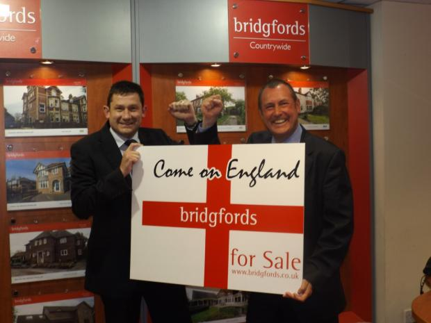 Bridgfords directors, Mark Alcroft and Jonathan Corless