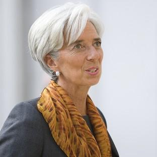Christine Lagarde has said she is 'not a candidate' in the race to be president of the European Commission