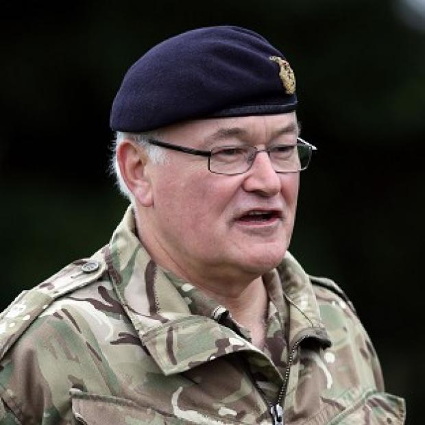 Messenger Newspapers: Head of the Army General Sir Peter Wall has warned against any more cuts