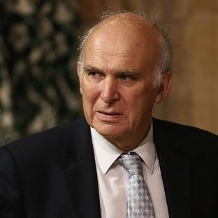Messenger Newspapers: Business Secretary Vince Cable was forced to deny he was part of a plot to oust Nick Clegg