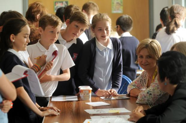 Successful careers day for Sale primary school