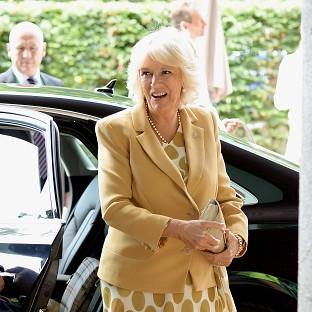 Messenger Newspapers: The Duchess of Cornwall left Wimbledon's Centre Court to watch Andy Murray play and then congratulated him on his win