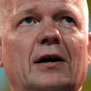 William Hague has arrived in Baghdad for talks with Iraq politicians