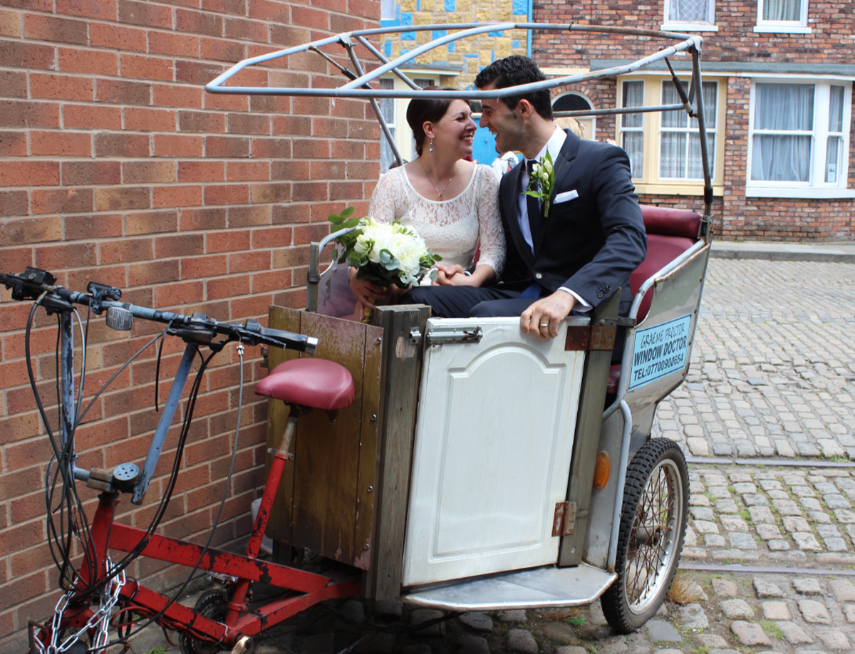Messenger Newspapers: Your chance to get married down Coronation Street