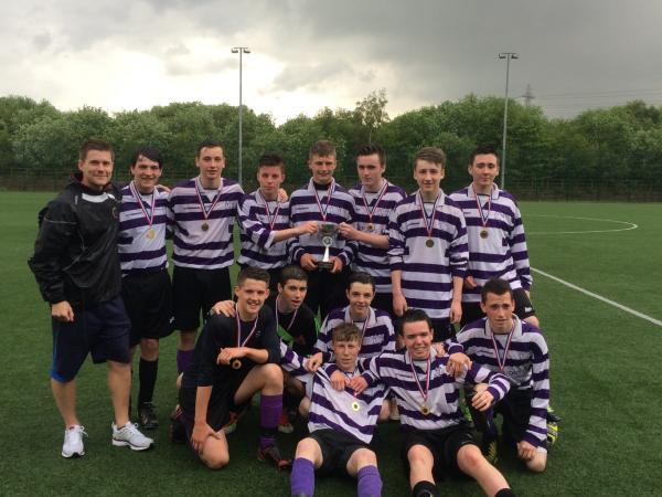 Blessed Thomas Holford Catholic College U16s crowned Trafford champions
