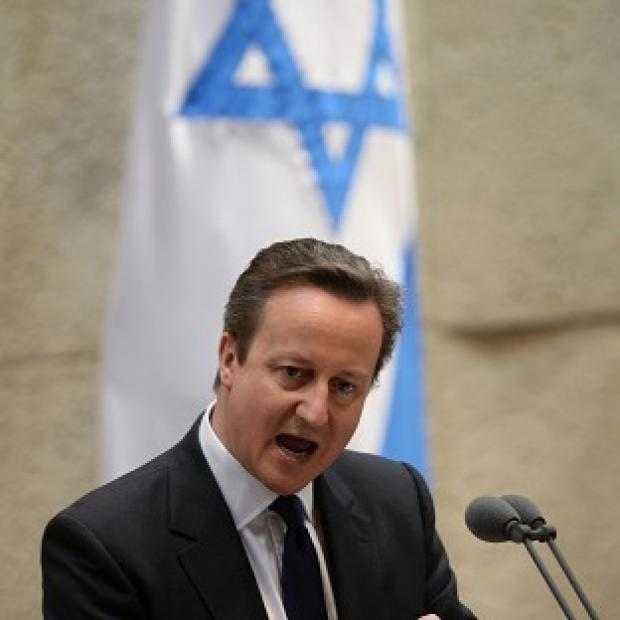 Messenger Newspapers: David Cameron condemned the deaths of three Israeli teenagers