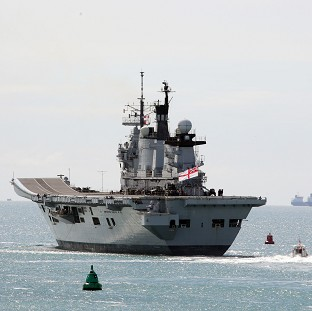 HMS Illustrious is the last of the Invincible class of aircraft carriers