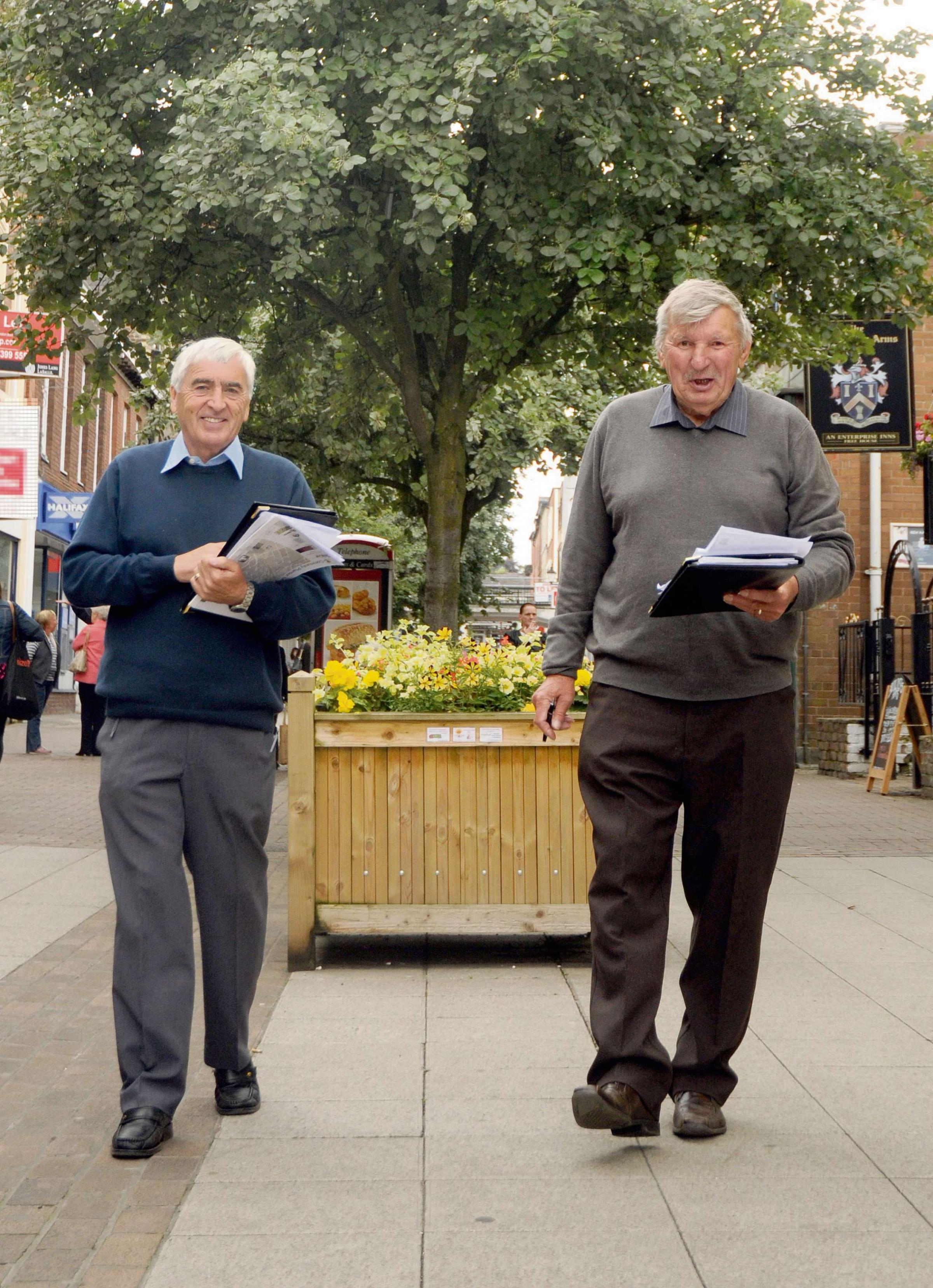 Blooming marvellous as judges take a tour of Altrincham