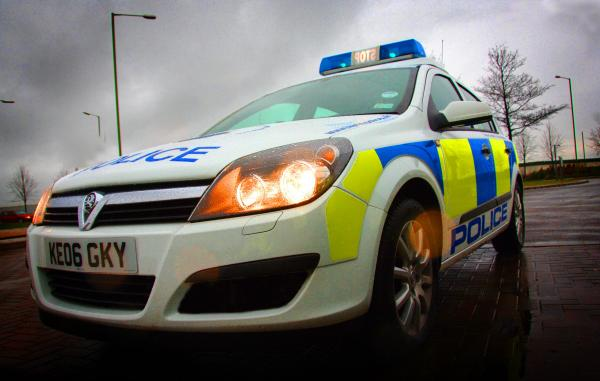 Four Police Officers Injured Following Car Chase Crash In Altrincham