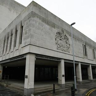 The rape trial was being heard at Manchester Crown Court