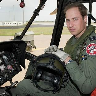 The Duke of Cambridge William will begin a civilian pilot course next month, and if successful he