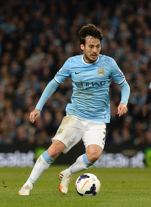 David Silva has agreed terms on a new five-year deal with Manchester City, the Barclays Premier League champions has announced. Phot:  Martin Rickett/PA Wire.
