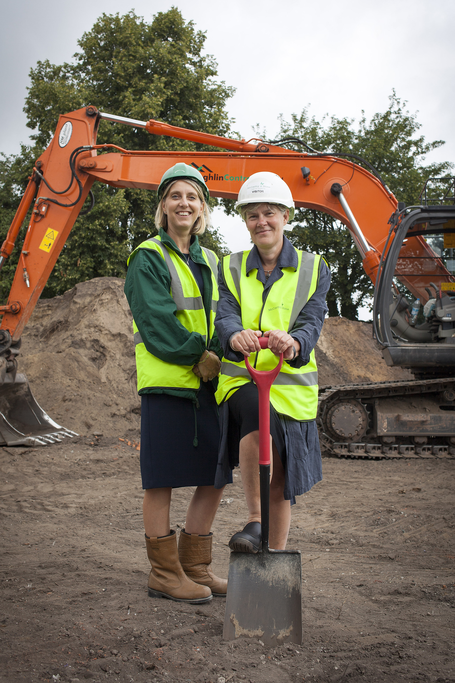 Stretford and Urmston MP attends groundbreaking of new assisted living development