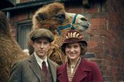 Lee Ingleby, left, stars as George Saul Mottershead in the BBC series Our Zoo