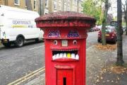 The postbox on Manor Avenue is a hit with Brockley children