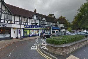 Knife gang steals cash from Trafford newsagents