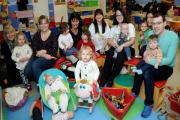 Jeneane Warhurst  and playgroup users at Cheeky Monkeys in Sale. (14374363)