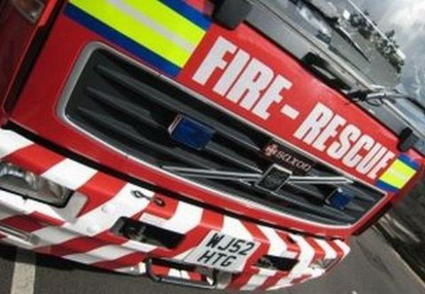 Firefighters extinguish a tumble dryer fire at a Timperley club