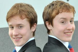 College appoints twins to share head boy role