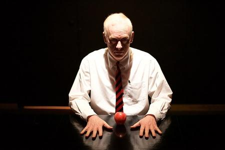 A different class - Paul Wilson as Alan Turing - photo by Adam Gonet