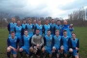 Aldermere FC squad who have won the league