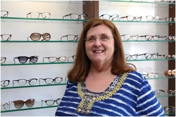 Jude Ledger is seeing clearly thanks to H & H Eyecare in Altrincham