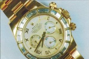 Armed robbers steal Rolex watch in Urmston