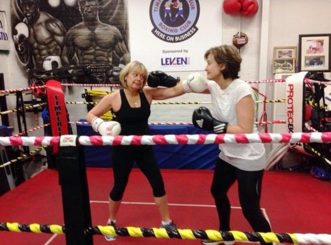 Women from the Broomwood estate can learn to box for free thanks to a FK Group-funded initiative
