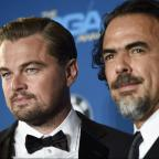 Messenger Newspapers: Leonardo DiCaprio turns up to watch Alejandro Inarritu win big at the Directors Guild Awards for The Revenant