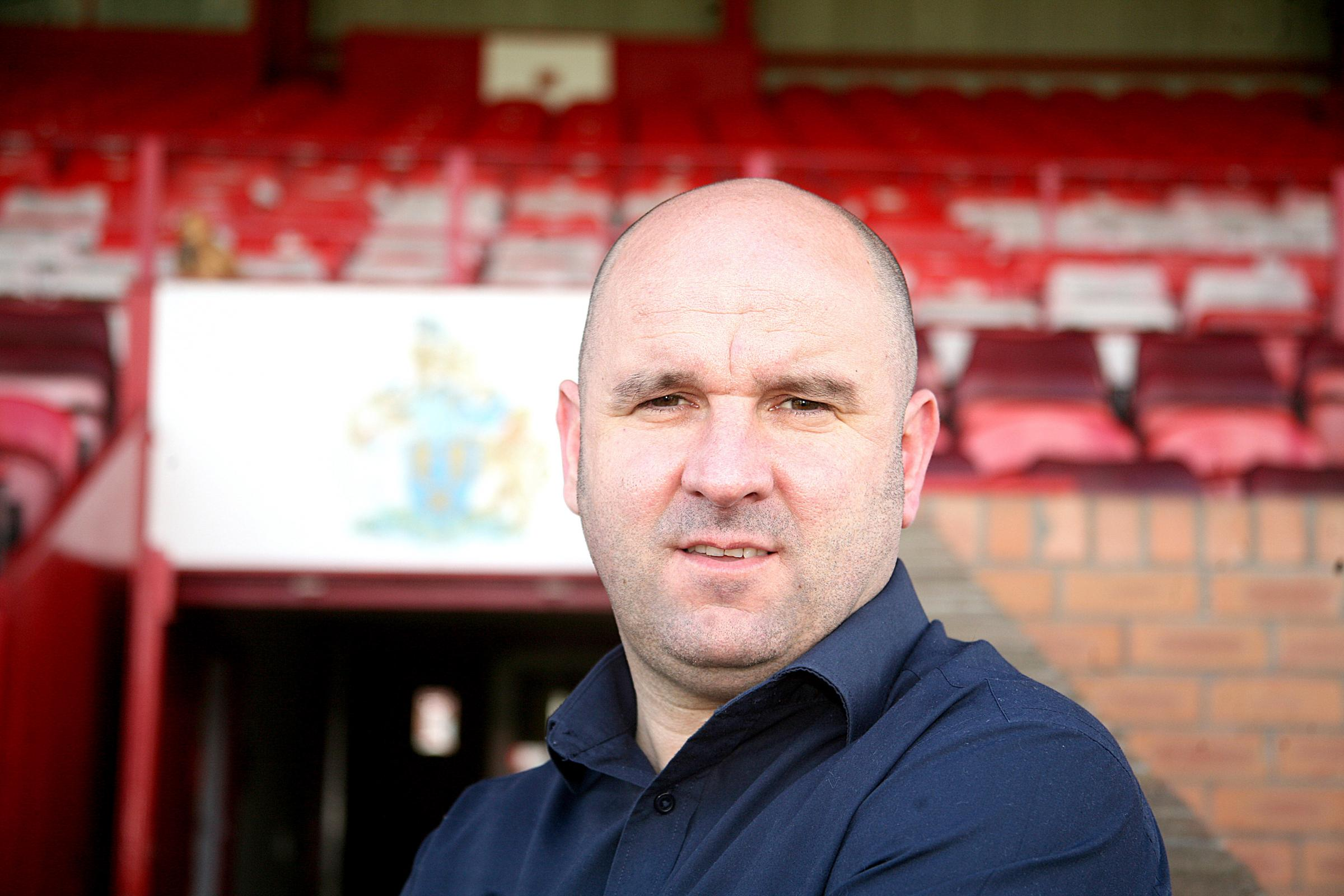 Altrincham manager Neil Young