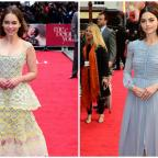 Messenger Newspapers: Emilia Clarke and Jenna Coleman turn on the glamour for the London premiere of Me Before You
