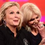 Messenger Newspapers: Ab-not-so-fab? Joanna Lumley reveals she and Jennifer Saunders weren't quite BFF's straight away