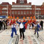 Messenger Newspapers: Stars of the Blackpool Tower Circus celebrate the 25th anniversary showPicture: Jason Lock