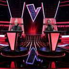 Messenger Newspapers: First look: Sir Tom slides back into the red chair as judges line up for The Voice UK