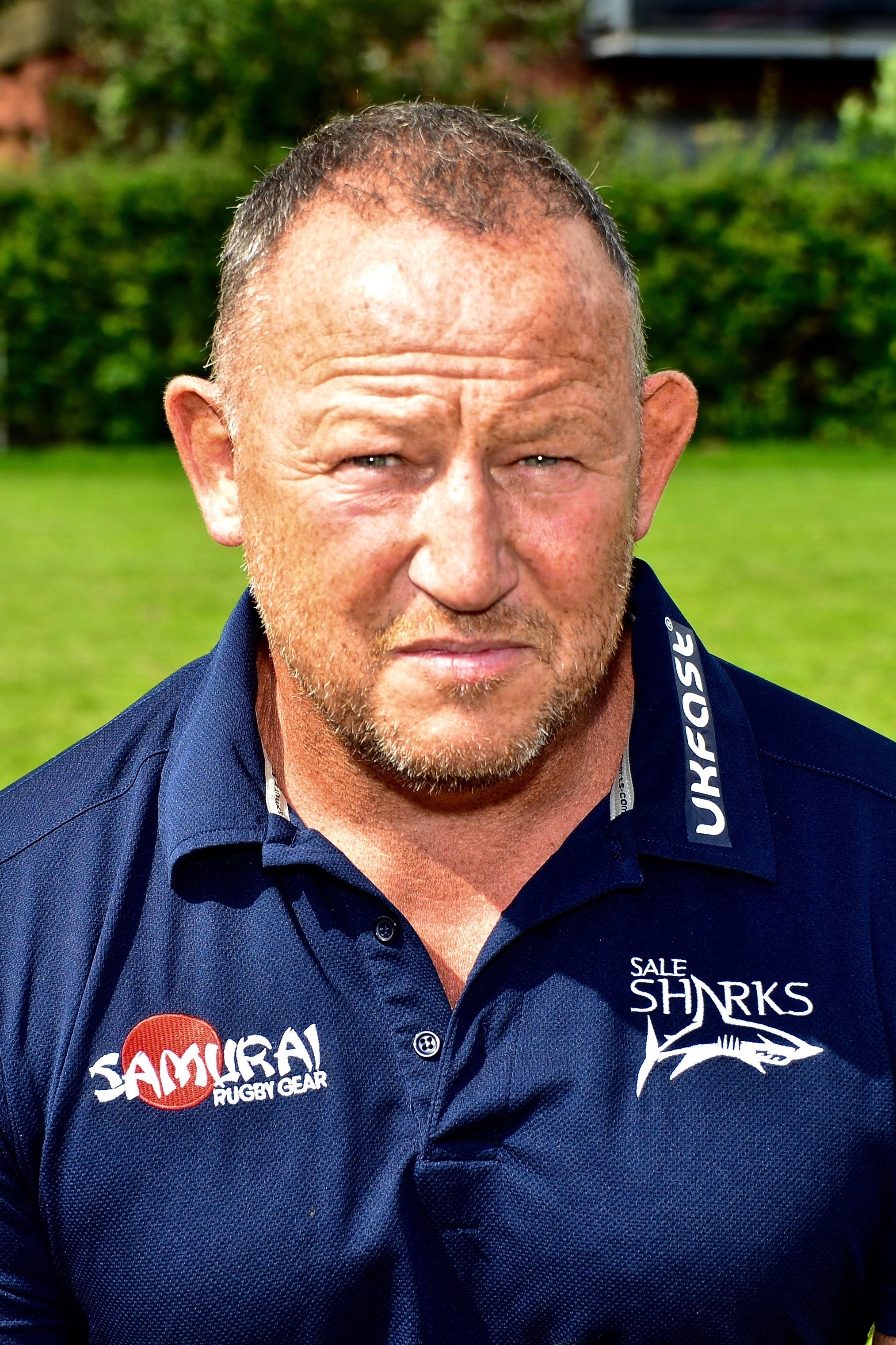 Sale Sharks boss Steve Diamond